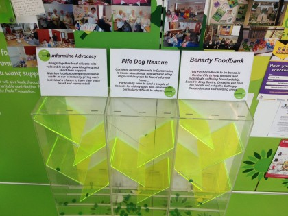 Green Token Scheme at Asda Halbeath