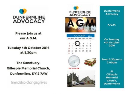 Come to our AGM!